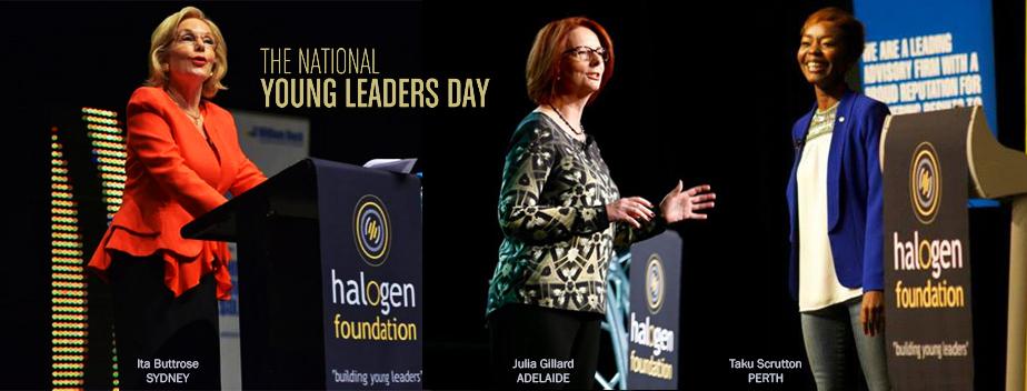 My story_Halogen Foundation Speaker_Julia Gillard_Ita Buttrose_Taku
