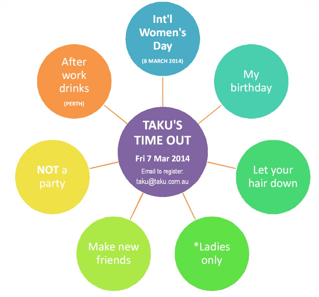 Taku Time Out_International Women's Day blog