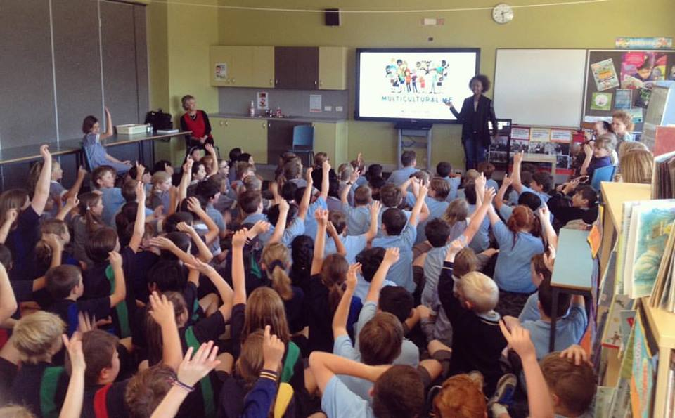 Multicultural Me School Talks_St Josephs School Melbourne