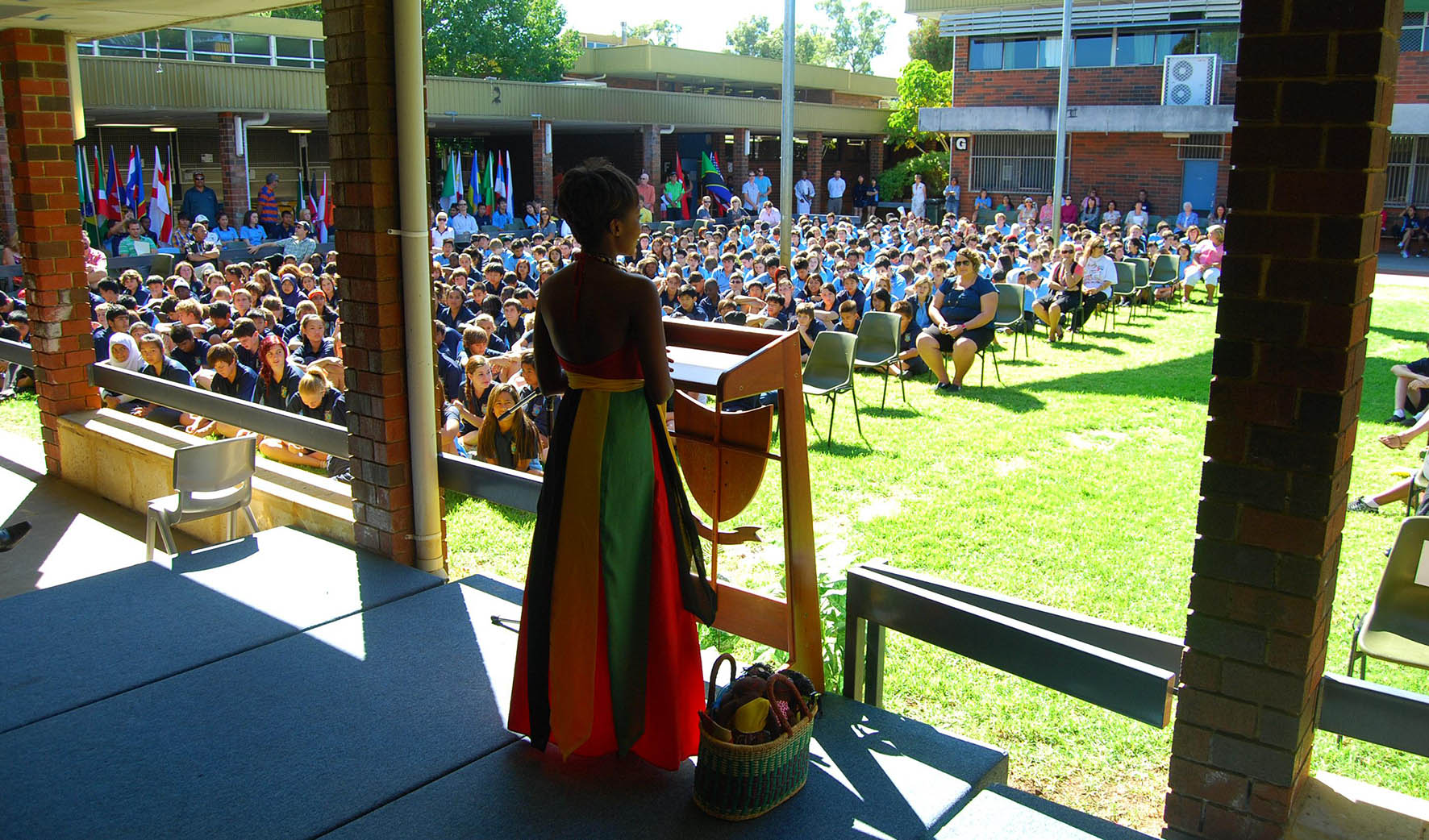 Harmony Day Taku Mbudzi School Talks Speaker Australia