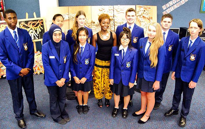 Lynwood Senior High School Talks_Taku_Harmony Day