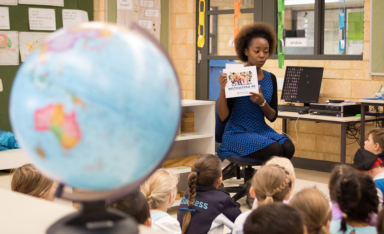 Success Primary School Classroom Reading - Book Week 2015