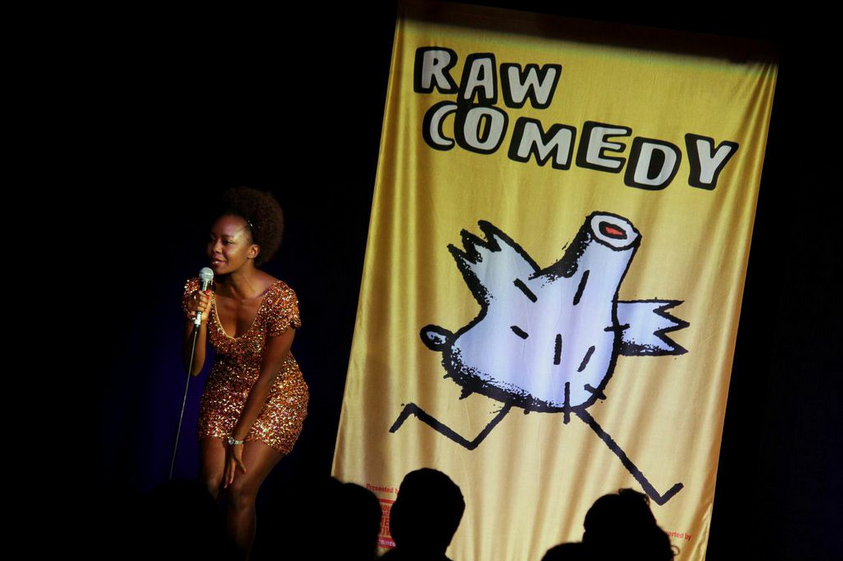 Taku Scrutton Stand-up RAW Comedy_ Writer blog