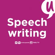 Two Words Taku Speech Writing