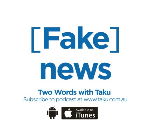 Fake News Interview Journalist Kerry Cue Australia