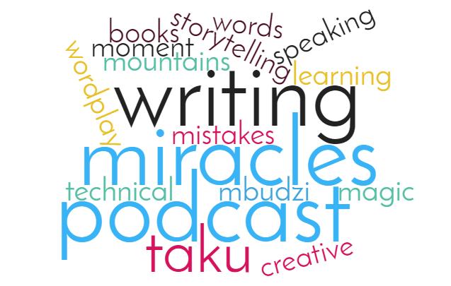 Magic Word Cloud Taku Podcast Australia