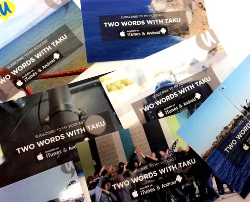 Trying Two Words with Taku Podcast Australia