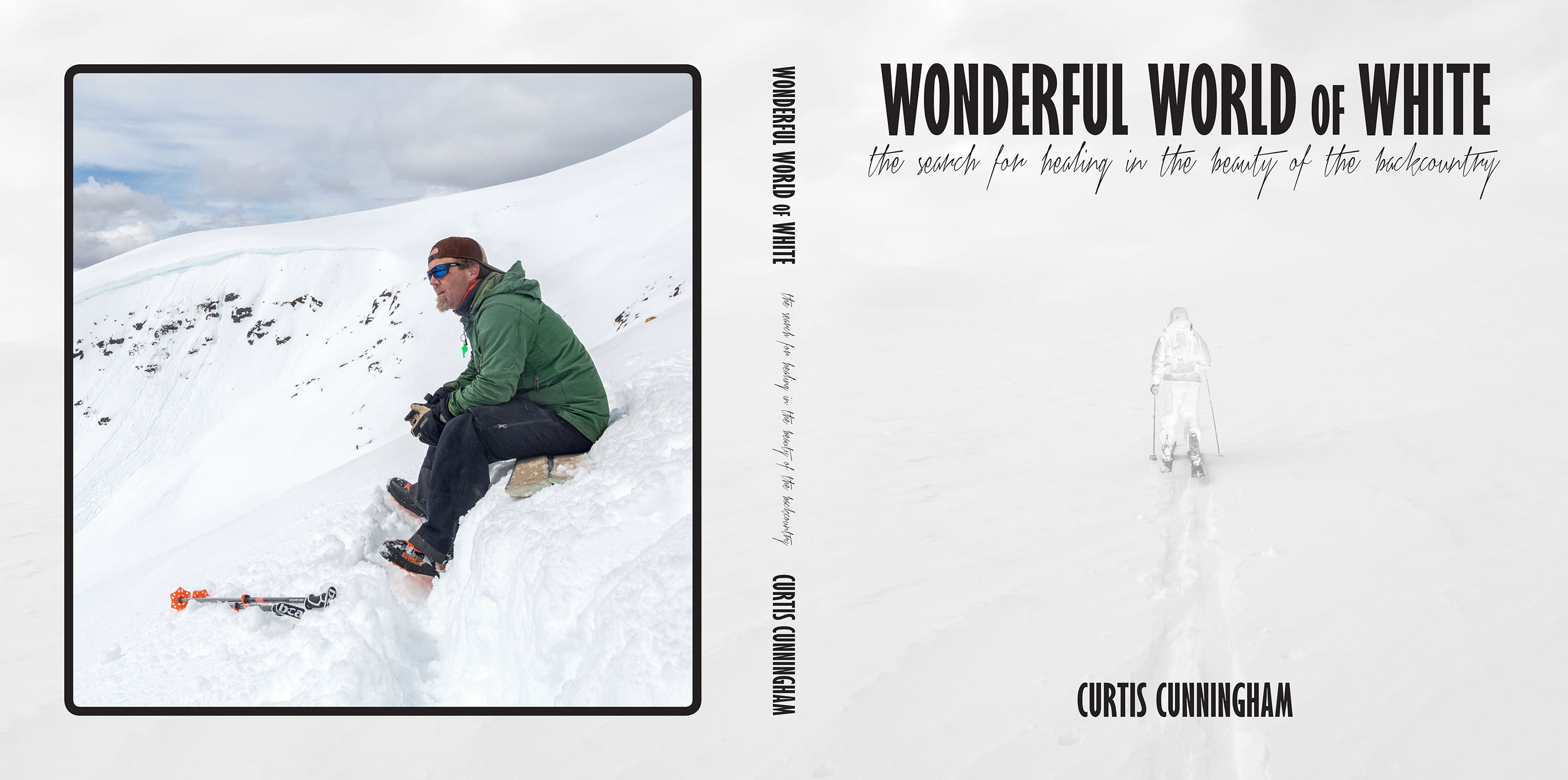 Wonderful World of White Cover Curtis Cunningham