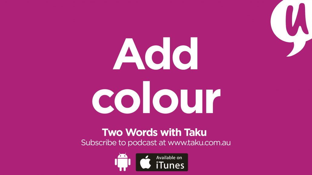 Write Resume CV Taku Podcast Colour