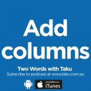 Write Resume CV Taku Podcast Columns