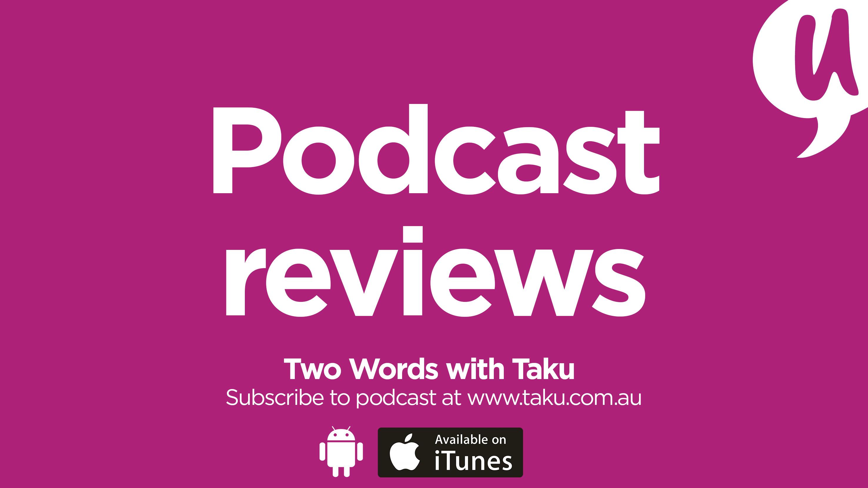 Podcast Reviews S-town, Serial, The Moth Taku Mbudzi