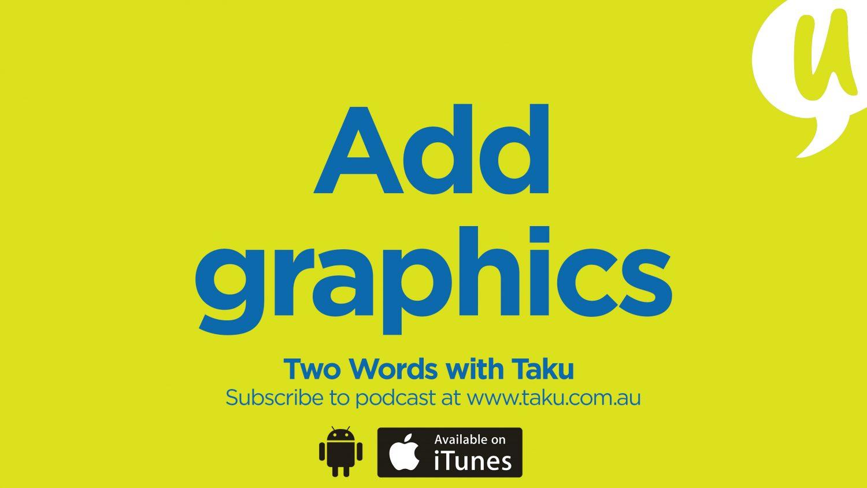 Write Resume CV Taku Podcast Graphics