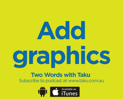Write Resume CV Taku Podcast Graphics