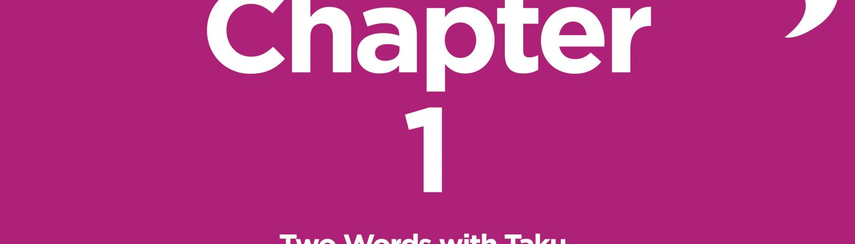 Chapter 1 JoYOLO Radio Story Taku Mbudzi