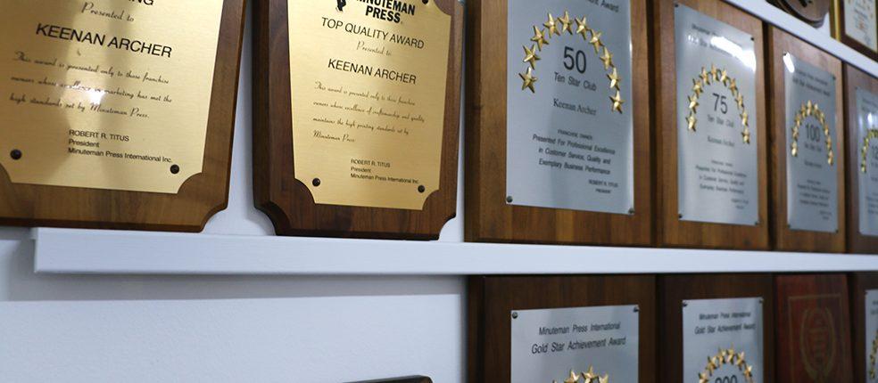 Minuteman Press Abbotsford Google Review Awards Taku Podcast