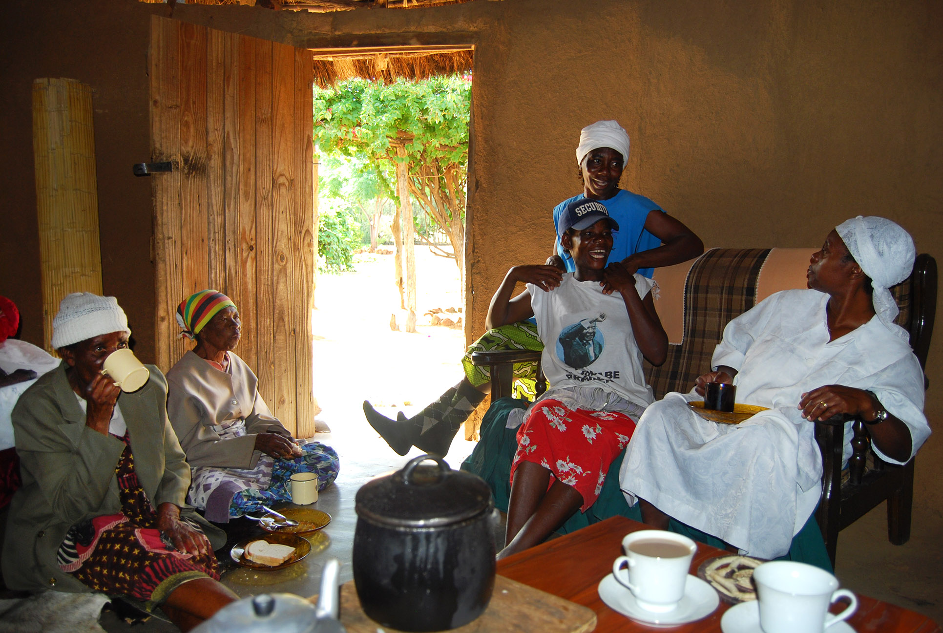 Tea is for Taku Story Laughing Family in Zimbabwe