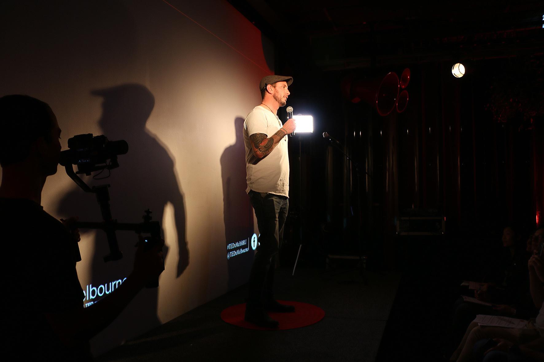 TEDxMelbourne Open Mic Night - Nic Sutherland