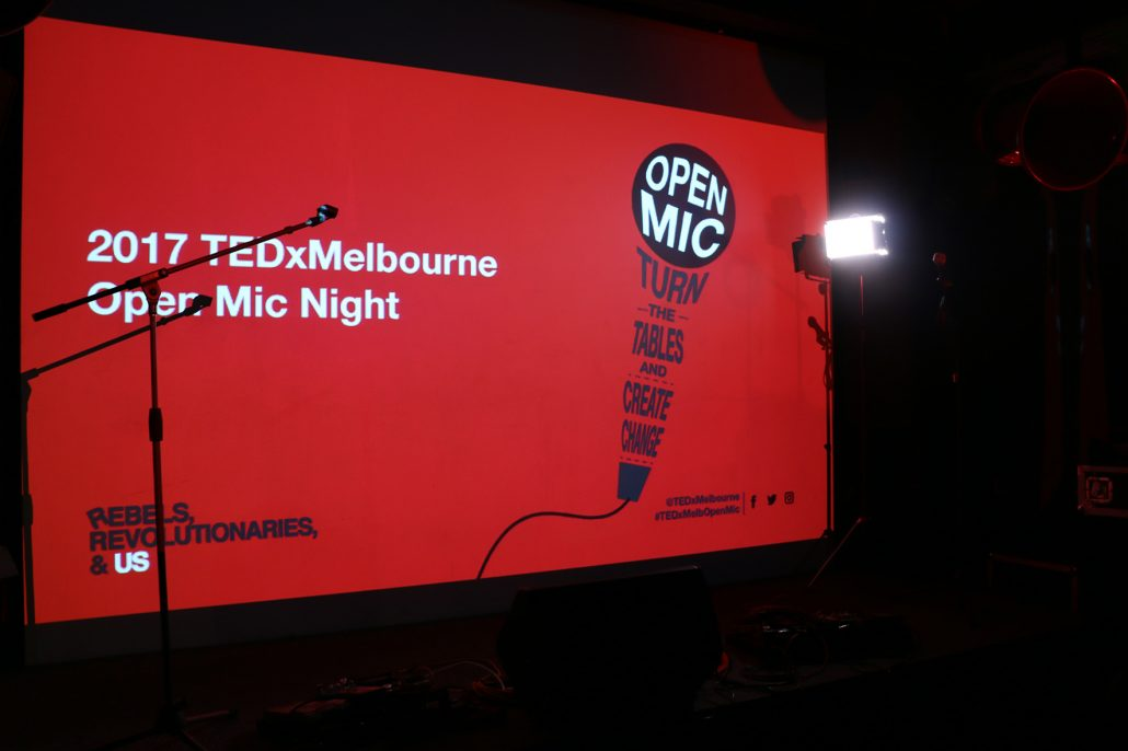 TEDxMelbourne Open Mic Night - Public Speaking