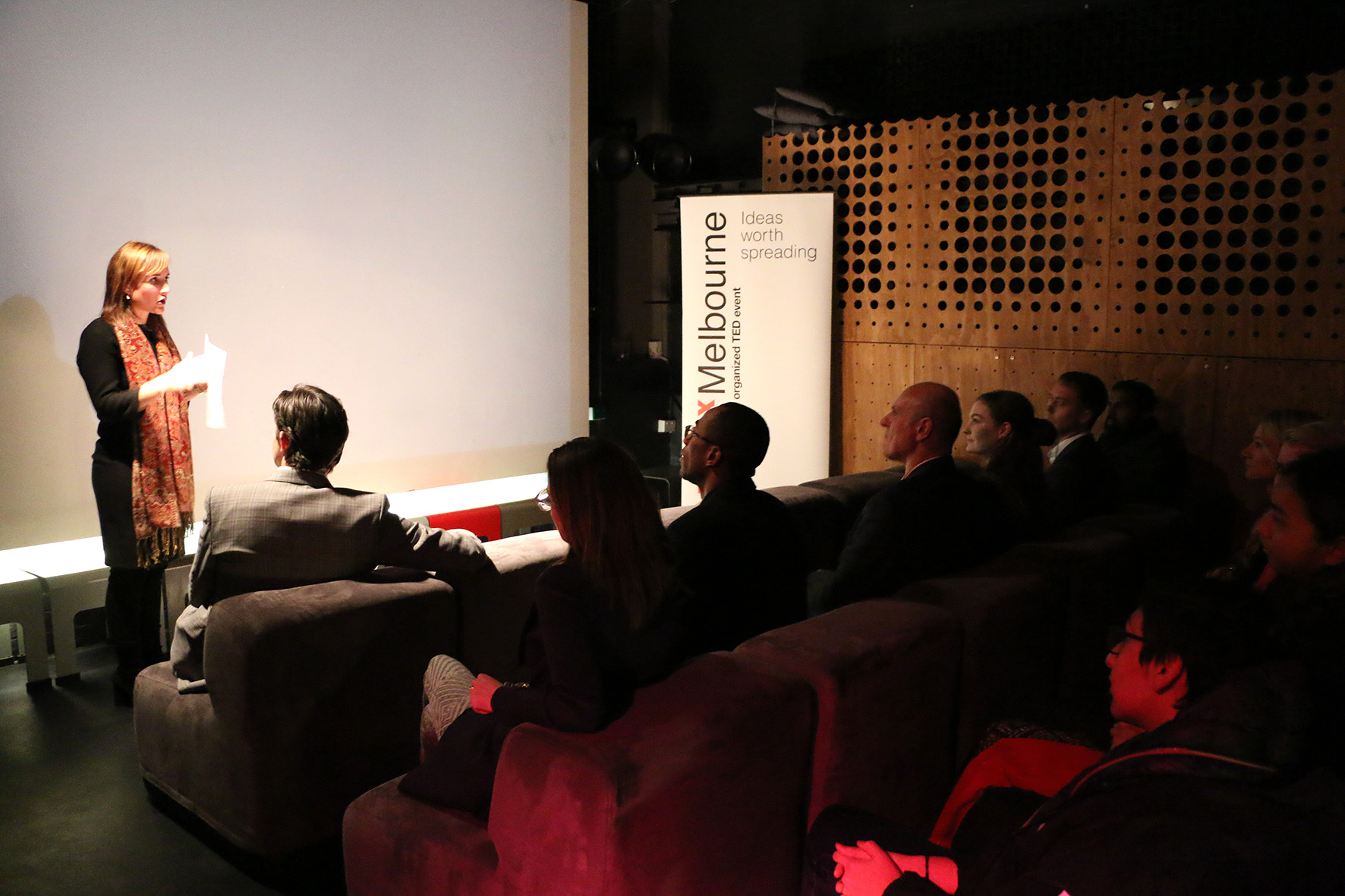 TEDxMelbourne Speaker Briefing Open Mic Night