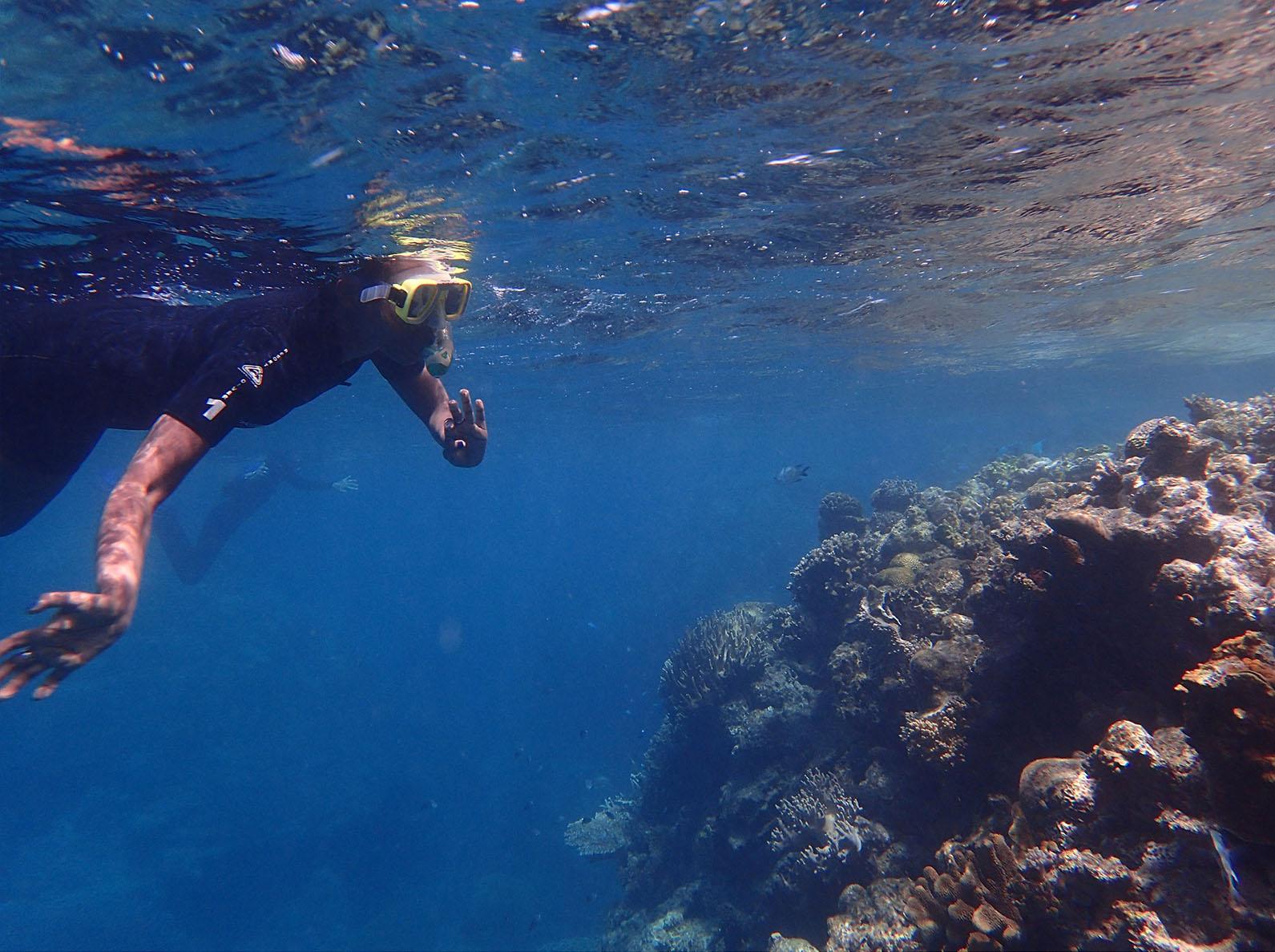Taku Mbudzi Podcast Snorkelling Great Barrier Reef Silence 1