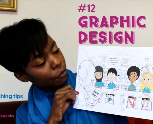 12. Self-publish a book Taku Mbudzi Podcast Australia Graphic design