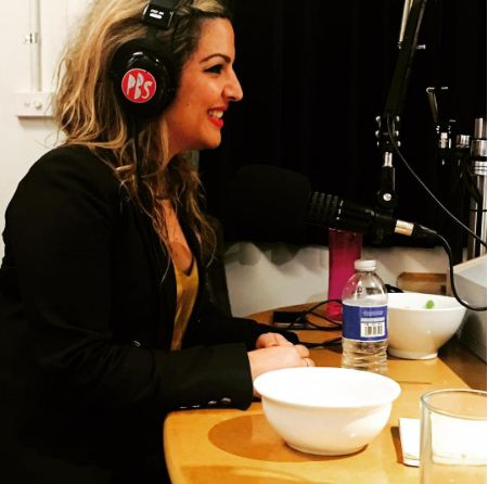 Ghina Makari Cane PBS FM Radio Story