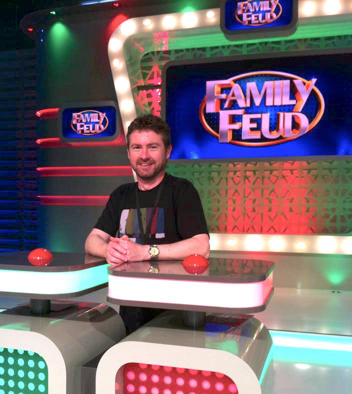 Gerard McCulloch TV Writer Family Feud Australia