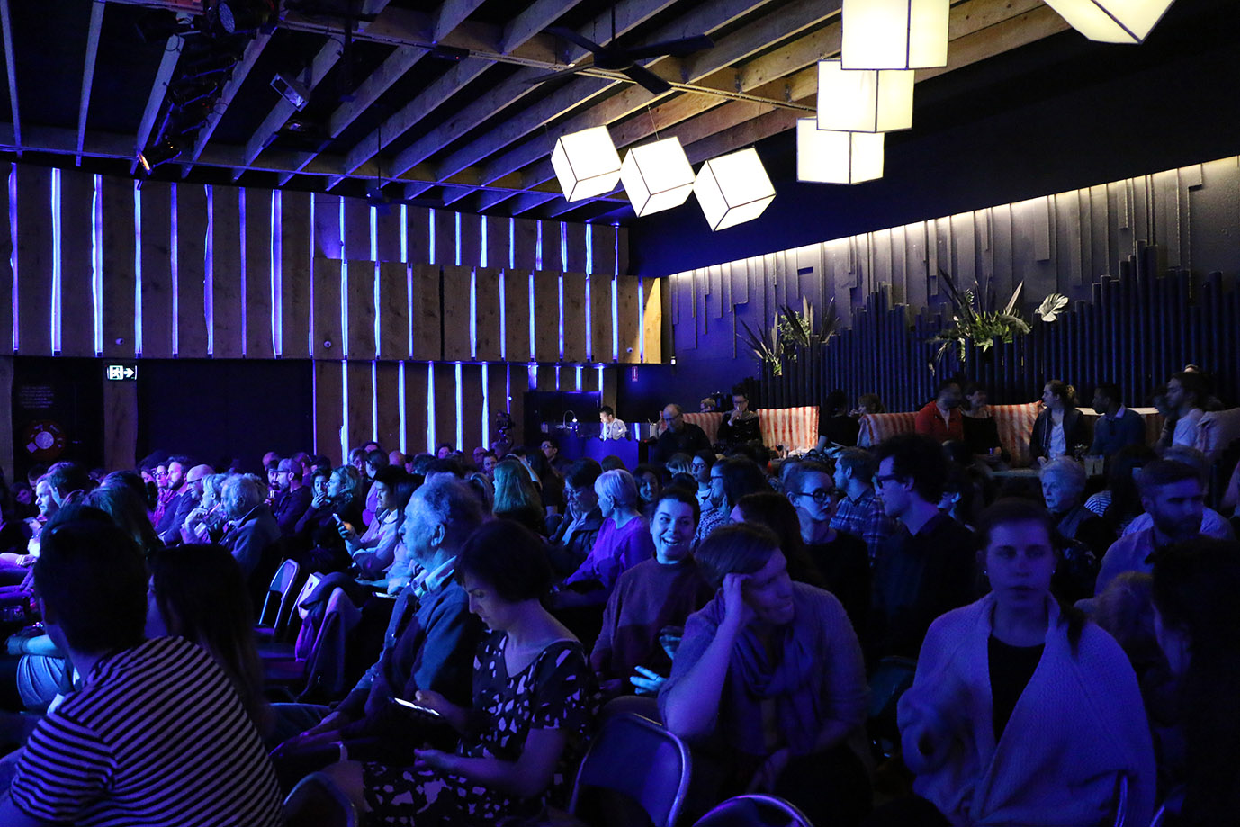 Kind audience at The Moth Melbourne Howler Brunswick