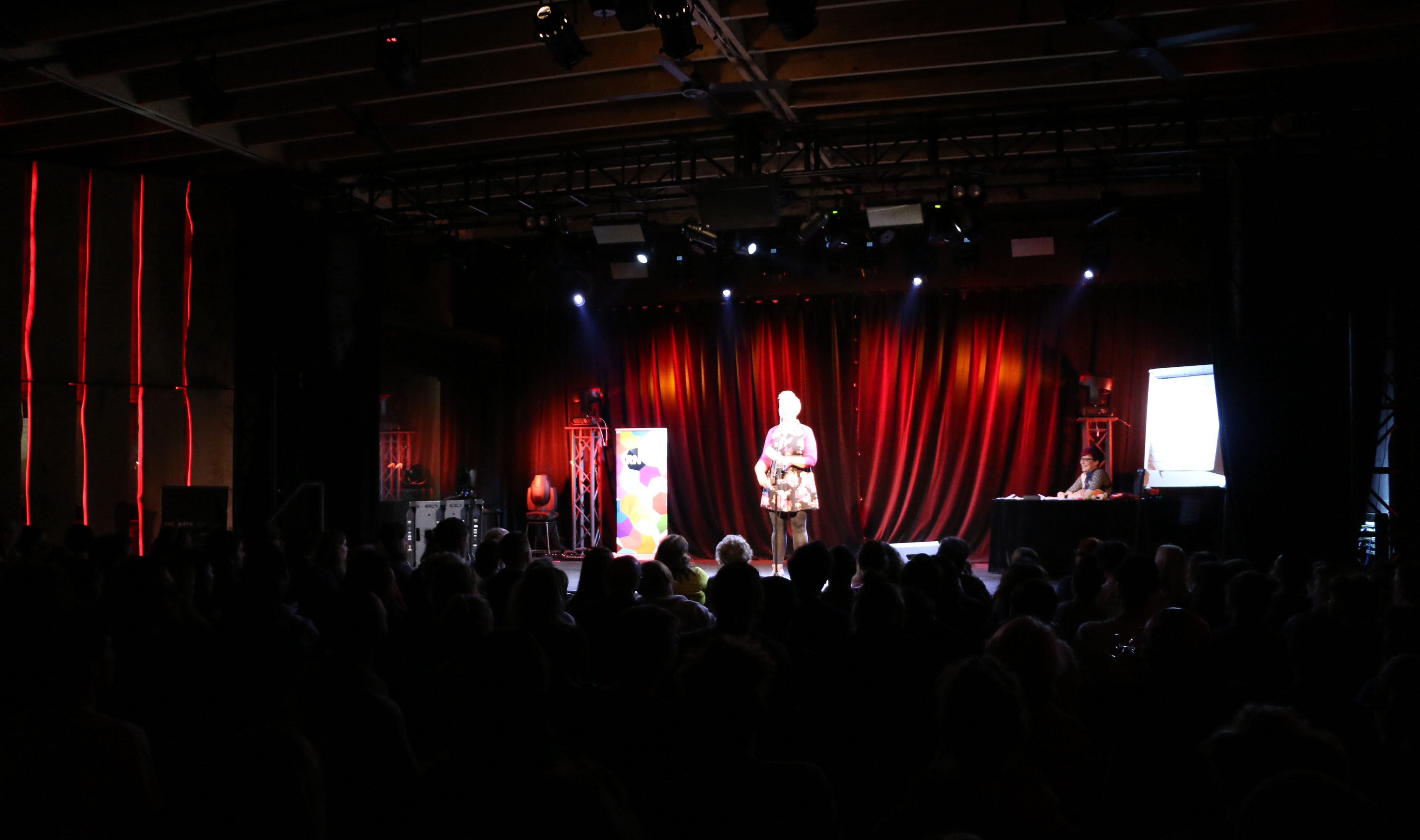 Merrilee McCoy on Stage The Moth Melbourne Story