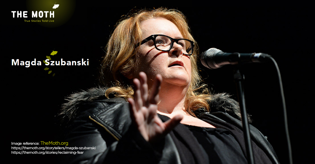 The Moth Melbourne Merrillee McCoy - Magda Szubanski Fave Talk