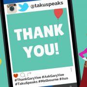 Thank You Gary Vee Melbourne Podcast Taku Mbudzi