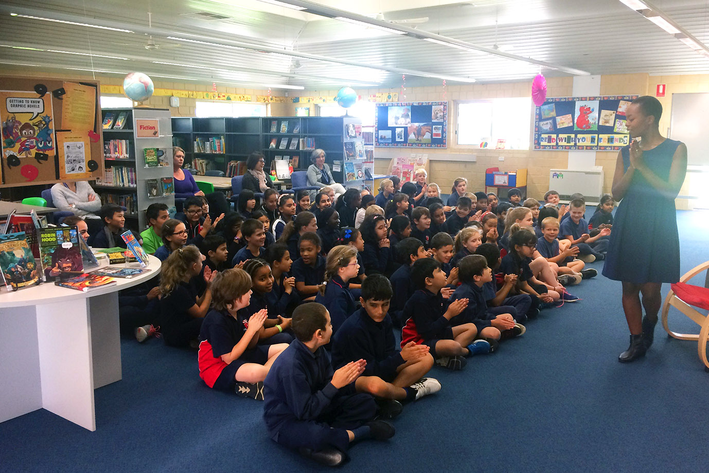 School library talk perth speeches and pitches