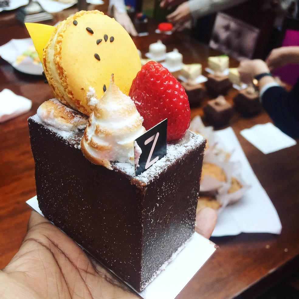 Zumbo Patisserie Cake branding lessons YMA Taku Mbudzi